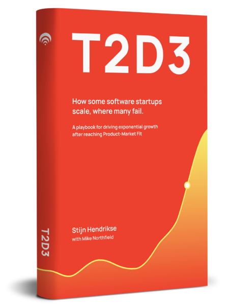 T2D3 Book - How some software startups scale, where many fail